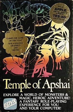 Dunjonquest : Le Temple d'Apshai sur jdrpg.fr