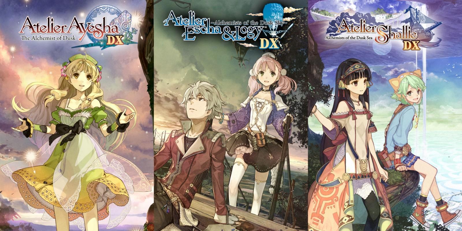 Atelier Dusk Trilogy Deluxe Pack sur jdrpg.fr
