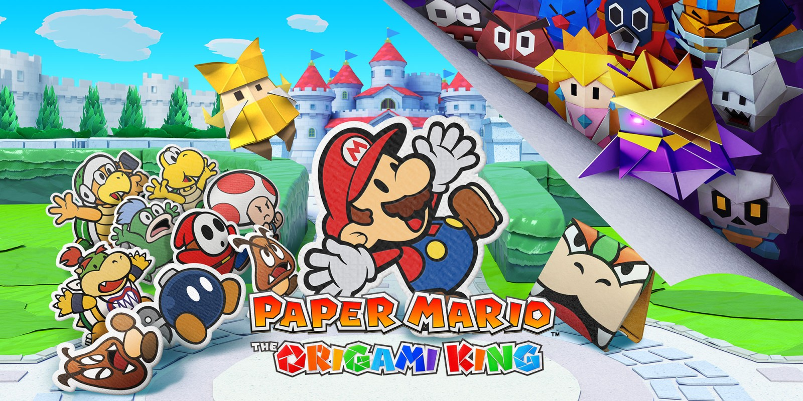 RPG / Paper Mario - The Origami King