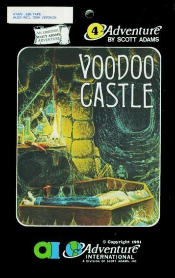 Adventure 4 - Voodoo Castle sur JDRPG.FR