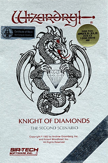 Wizardry II: The Knight of Diamonds sur jdrpg.fr