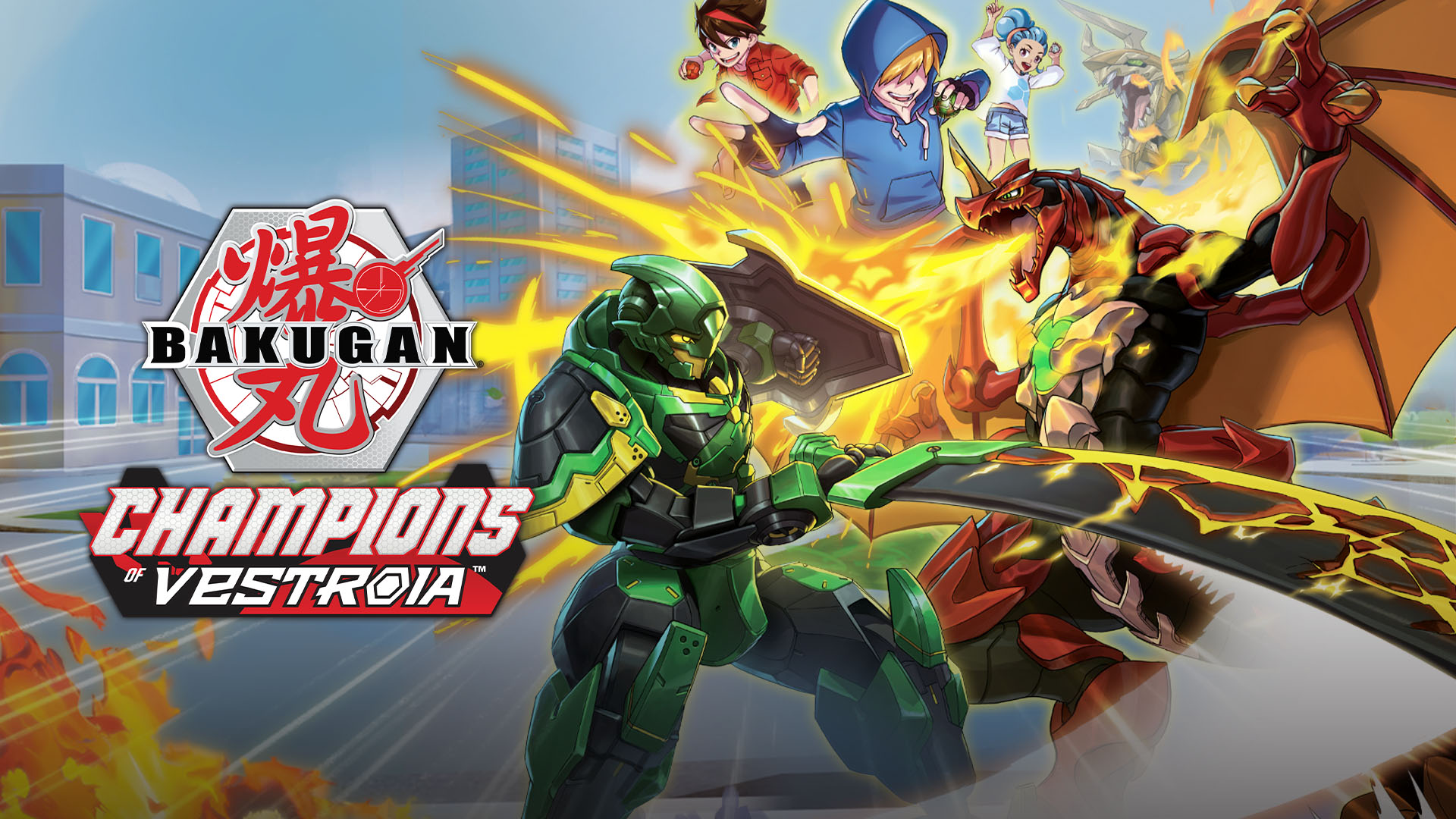 Bakugan: Champions of Vestroia sur JDRPG.FR