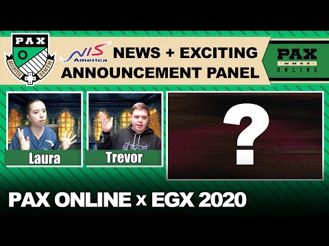 NISA News + Exciting Announcement Panel at PAX Online x EGX 2020