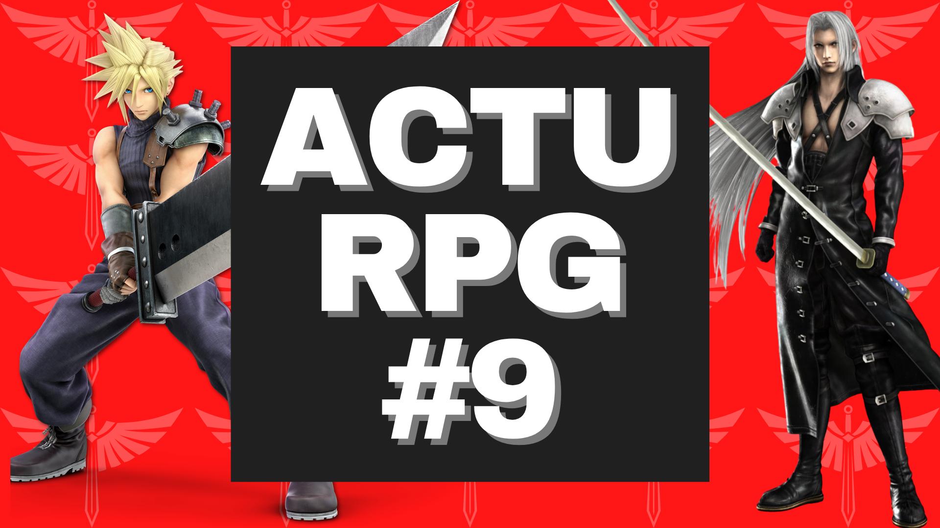 Toute l'actualités sur les RPG pendant le semaine du 11 au 17 janvier 2021