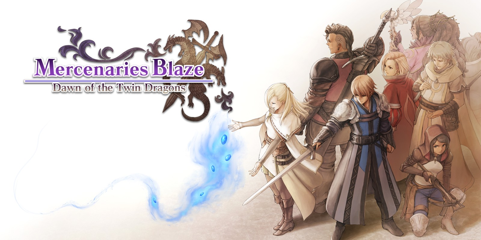 Mercenaries Blaze: Dawn of the Twin Dragons sur jdrpg.fr