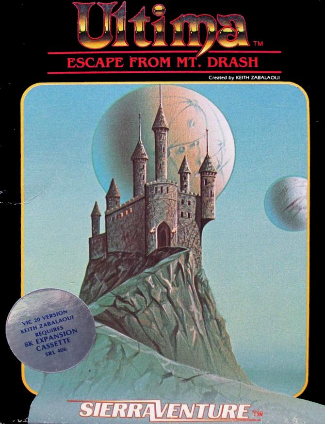 Ultima: Escape from Mt Drash sur jdrpg.fr