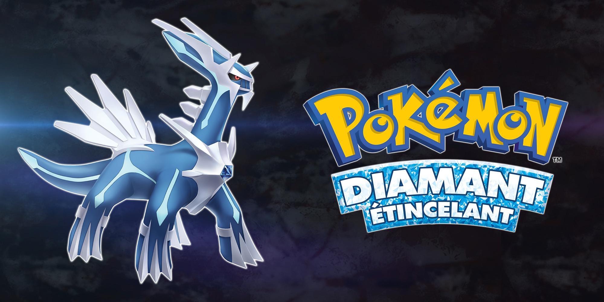 Pokémon Diamant Étincelant sur jdrpg.fr